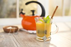 image of orange earl grey tea
